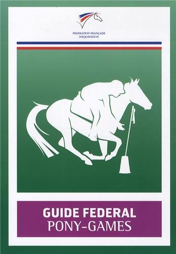 9782953450217: Guide f�d�ral Pony-Games