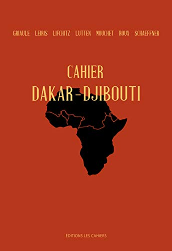 9782953480689: Cahier Dakar Djibouti