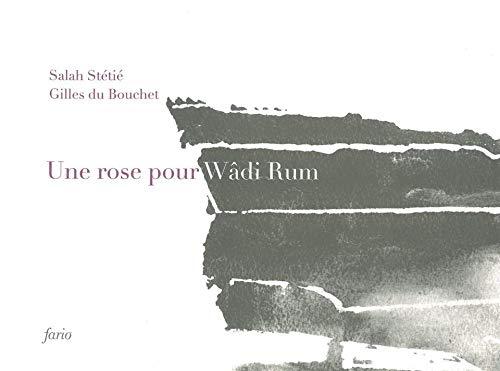 9782953625875: Une rose pour W�di Rum