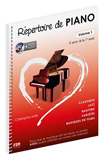 9782953817850: Répertoire de Piano Volume 1 + CD - Christophe Astié
