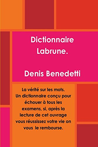 9782953918533: Dictionnaire Labrune (French Edition)