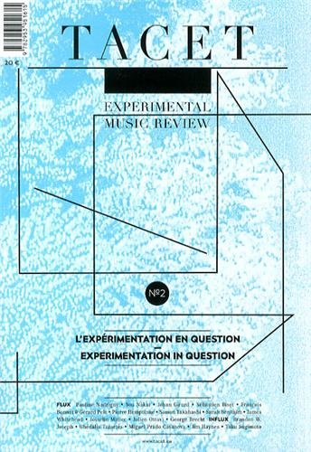 9782953951615: Tacet 2: Experimentation As Questioning (English and French Edition)