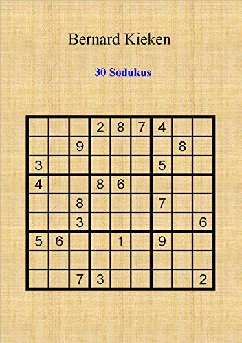 9782953979930: 30 sodukus