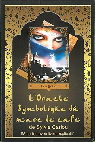 9782954265803: L'oracle symbolique du marc de café : 58 cartes avec livret explicatif