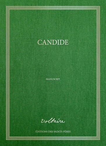 9782954268750: Candide, le manuscrit