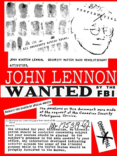 9782954463612: JOHN LENNON - Wanted by the FBI