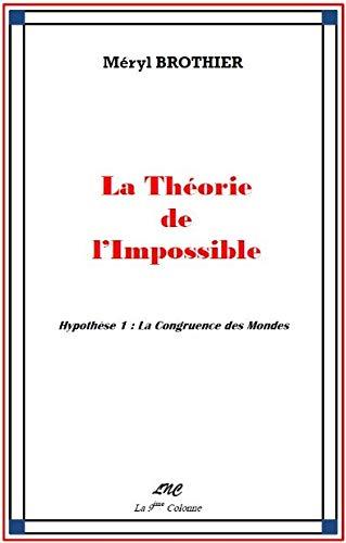 La Theorie de l'Impossible: Hypothese 1 : Meryl Brothier