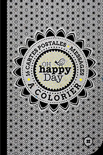 9782955117217: Oh Happy Day - Cartes postales à colorier