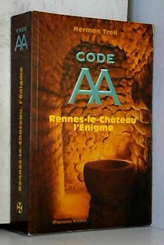 9782955386200: Code AA Rennes-le-Château l'Enigme