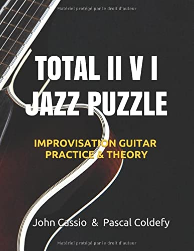 9782957024704: TOTAL II V I JAZZ PUZZLE: Practice and theory