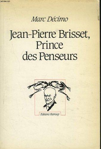 9782958564773: Jean-pierre brisset, prince des penseurs