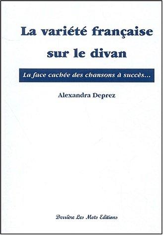 9782959982507: LA VARIETE FRANCAISE SUR LE DIVAN