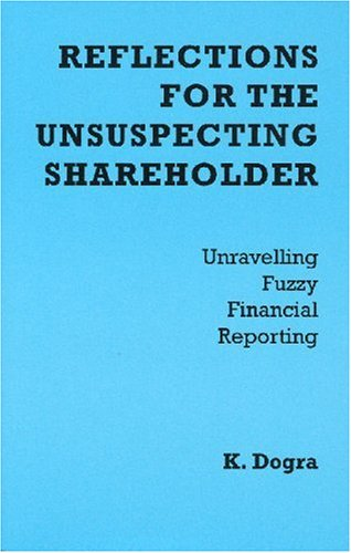9782970048404: Reflections for the Unsuspecting Shareholder