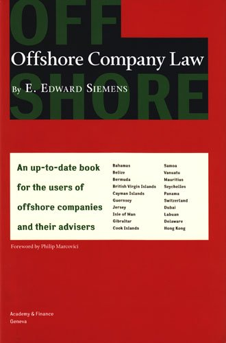 Offshore Company Law: Dr. E. Edward Siemens
