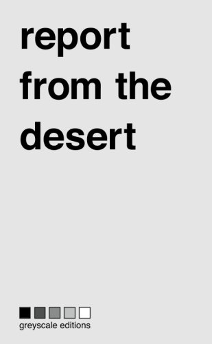 9782970070603: report from the desert