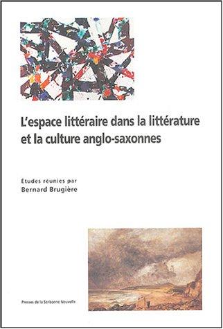 9782978541037: Espace littéraire dans la littérature culture
