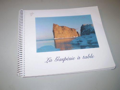 9782980121906: La Gaspesie a table