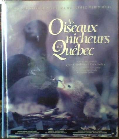 9782980155314: ATLAS DES OISEAUX NICHEURS DU QUEBEC