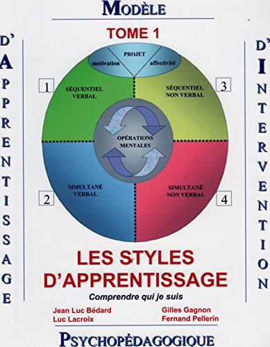 9782980779015: Modèle d'apprentissage et d'intervention tome 1 : Les styles d'apprentissage