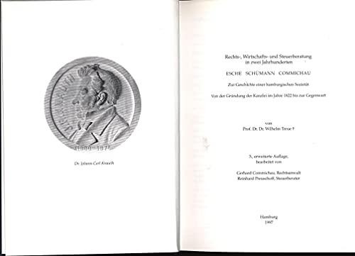 Zur Geschichte einer Hamburgischen Sozietät (Livre en: Wilhelm Treue