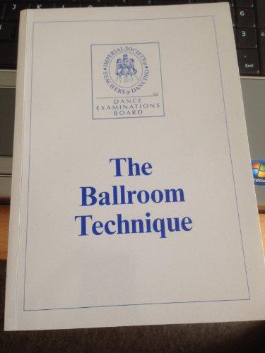 9783000028601: The Ballroom Technique Deutsche Übersetzung (Livre en allemand)