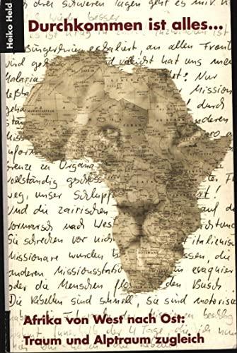 9783000034183: Durchkommen ist alles... (Livre en allemand)