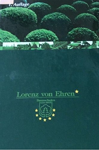 9783000065538: Lorenz Von Ehren First Edition. mit CD in deutsch/englisch