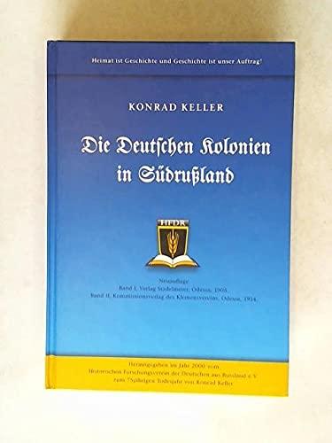 9783000071775: Die deutschen Kolonien in Sudrussland (German Edition)
