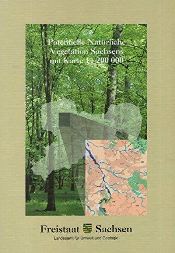 9783000100154: Potentielle Natürliche Vegetation Sachsens mit Karte 1:200000 (Livre en allemand)