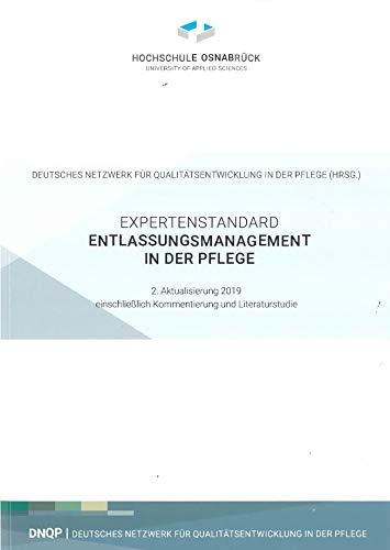 9783000105593: Expertenstandard Entlassungsmanagement in der Plege. Entwicklung - Konsentierung - Implementierung