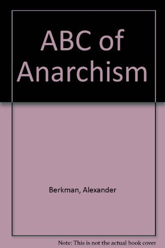 9783000154010: ABC of Anarchism