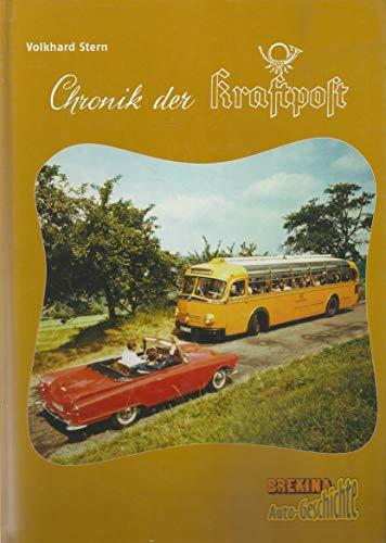 9783000154539: Chronik der Kraftpost Brekina Auto-Geschichte