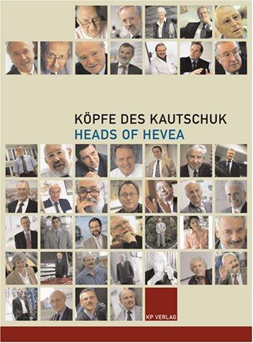 9783000164125: Köpfe des Kautschuk Heads of Hevea