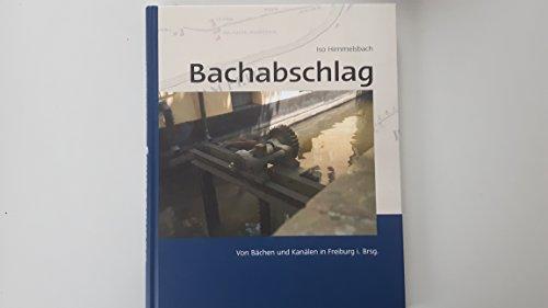 9783000170553: Bachabschlag: Von Bächen und Kanälen in Freiburg i. Br.