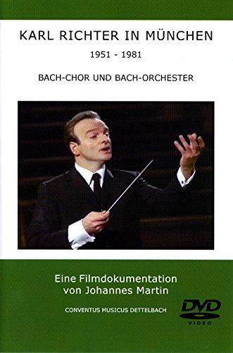 9783000207266: Karl Richter in München - 1951-1981/Bach-Chor und Bach-Orchester [Alemania] [DVD]