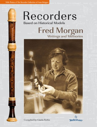 9783000212154: Recorders Based on Historical Models: Fred Morgan - Writings und Memories