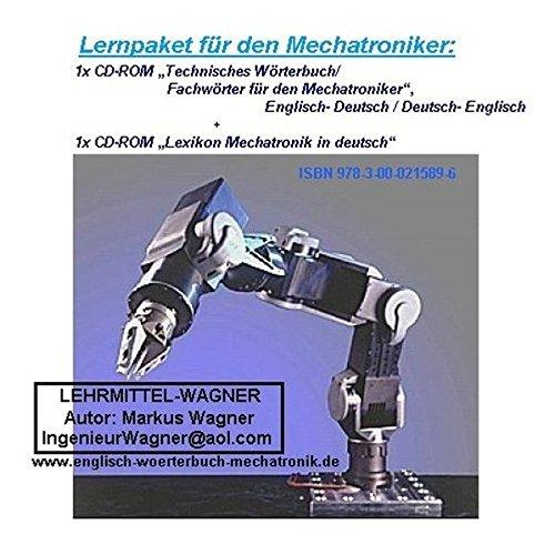 english-german dictionary mechatronics/robotics/of drives- Technisches Woerterbuch /: Markus Wagner