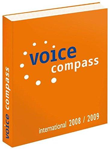 9783000220715: Voice Compass: International 2008/2009: Speech goes Mainstream
