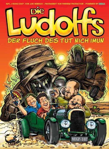 9783000234149: Die Ludolfs - Der Fluch des Tut Nich Imun