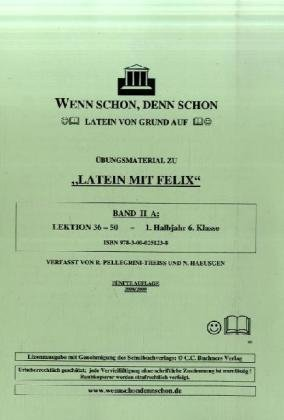 9783000251238: HaeusgenN: Wenn schon, denn schon - Latein/m. Lösungsheft