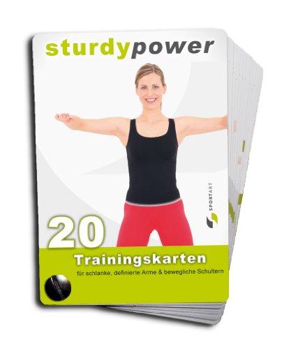 9783000262784: Buchkarten Straffe Arme mit sturdypower