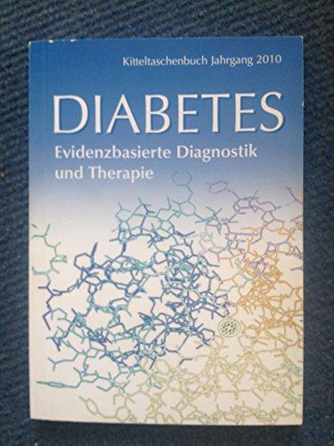 9783000266348: Diabetes Kitteltaschenbuch: Evidenzbasierte Diagnostik und Therapie