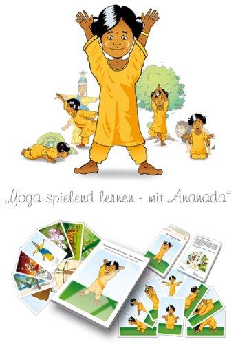 9783000293917: Yoga spielend lernen - mit Ananda: Das Kinderyoga-Kartenspiel