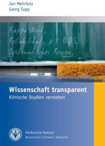9783000304996: Wissenschaft transparent: Klinische Studien verstehen