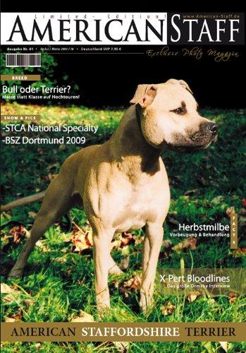 9783000308857: American Staff || Das American Staffordshire Terrier Magazin Nr.1