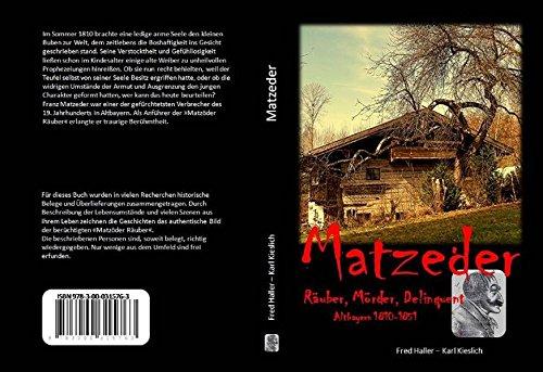 9783000315763: Haller, F: Matzeder