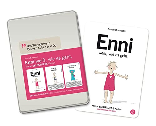 9783000324642: ENNI weiß, wie es geht.: Selbstliebe-Coaching-Karten