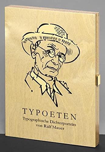 9783000353109: Typoeten: Typographische Dichterporträts