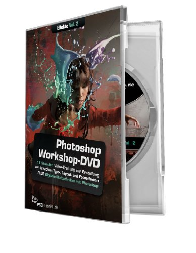 9783000355554: Photoshop-Workshop-DVD - Effekte für Typo, Layout & Foto - Vol. 2: Die PSD-Tutorials.de - Photoshop Workshop-DVD - Effekte für Typo, Layout & Foto ... kreative Eyecatcher verleihen willst!