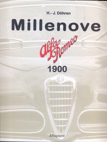 9783000374173: Millenove Alfa Romeo 1900